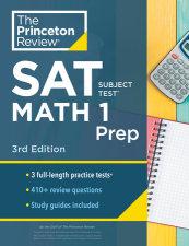 Princeton Review SAT Subject Test Math 1 Prep, 3rd Edition