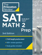 Princeton Review SAT Subject Test Math 2 Prep, 3rd Edition