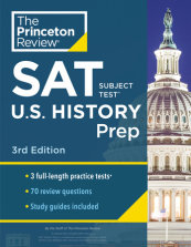 Princeton Review SAT Subject Test U.S. History Prep, 3rd Edition