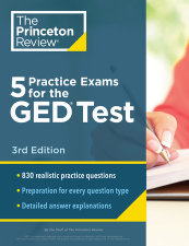 5 Practice Exams for the GED Test, 3rd Edition