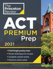 Princeton Review ACT Premium Prep, 2021