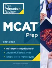 Princeton Review MCAT Prep, 2021-2022