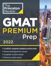 Princeton Review GMAT Premium Prep, 2022
