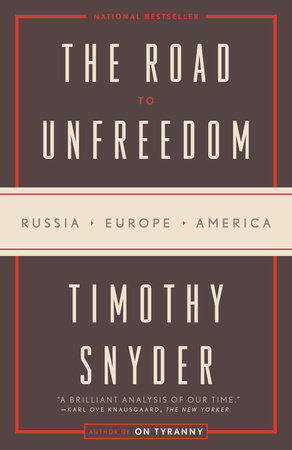 The Road to Unfreedom book cover