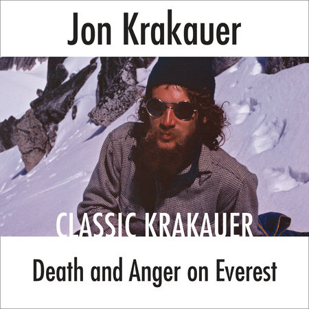 Death and Anger on Everest book cover