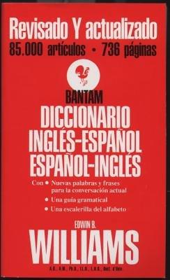 Bantam Diccionario Ingles-Espanol, Espanol-Ingles