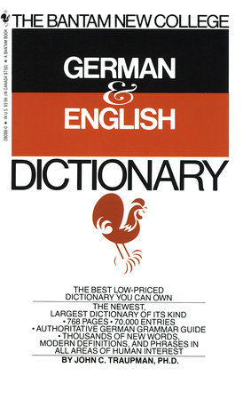 Bantam New College German/English Dictionary by John Traupman