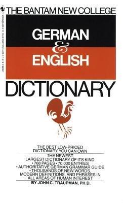 Bantam New College German/English Dictionary
