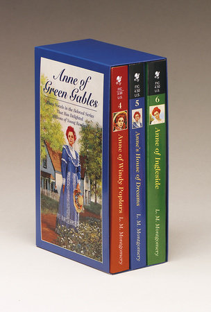 Anne of Green Gables, 3-Book Box Set, Volume II by