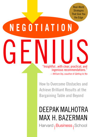 Negotiation Genius by