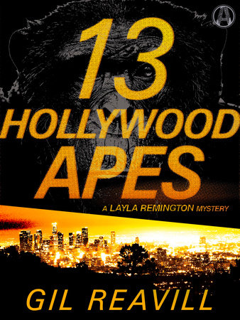 13 Hollywood Apes book cover