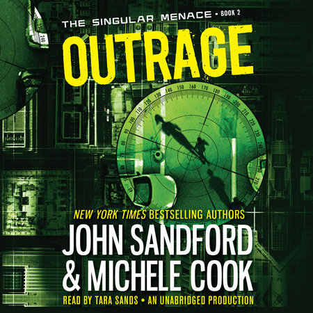 Outrage (The Singular Menace, 2) book cover