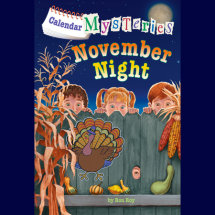 Calendar Mysteries #11: November Night Cover