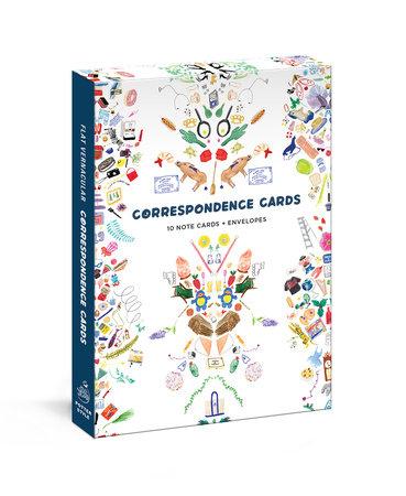 Flat Vernacular Correspondence Cards
