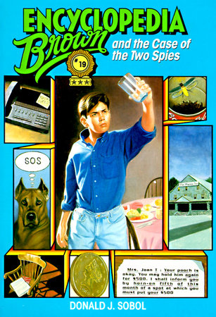 Encyclopedia Brown and the Case of the Two Spies by
