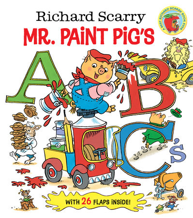 Richard Scarry Mr. Paint Pig's ABC's by Richard Scarry