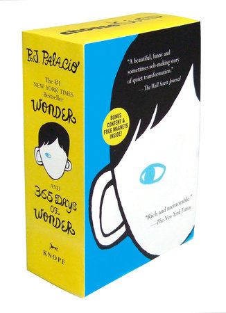 Wonder/365 Days of Wonder Boxed Set by R. J. Palacio