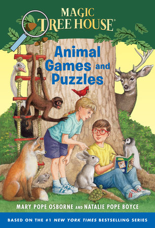 Magic Tree House Animal Games And Puzzles By Mary Pope