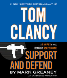 Tom Clancy Support and Defend Cover