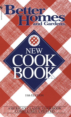Better Homes & Gardens New Cookbook by