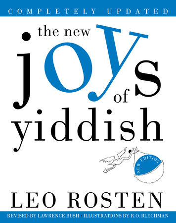 The New Joys of Yiddish by