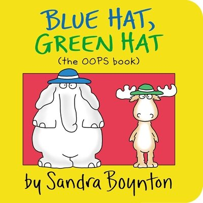 blue hat green hat - Color Books For Toddlers