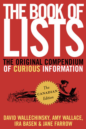 The Book of Lists, The Canadian Edition by