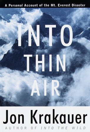 Into Thin Air by