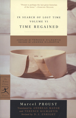 In Search of Lost Time, Volume VI: Time Regained