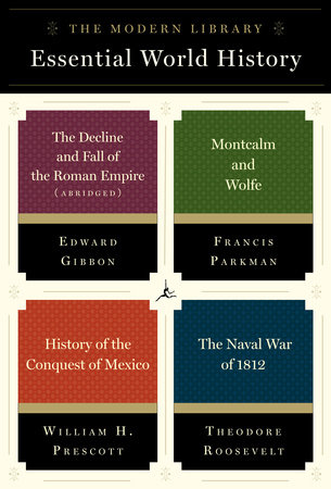 The Modern Library Essential World History 4-Book Bundle by