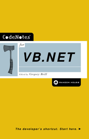 CodeNotes for VB.NET by