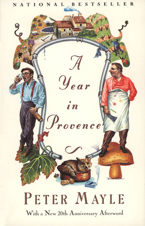 Cover art for A Year in Provence