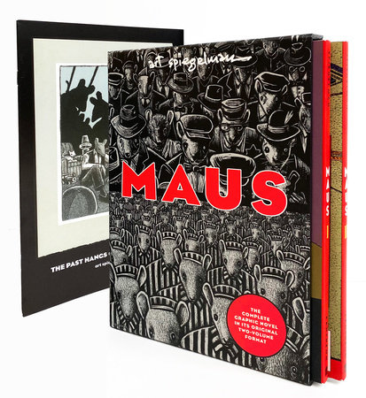 Maus I & II Paperback Boxed Set by