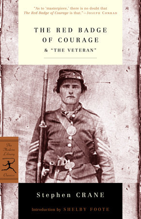 "The Red Badge of Courage & ""The Veteran"" by"