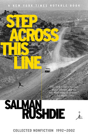 Step Across This Line by Salman Rushdie