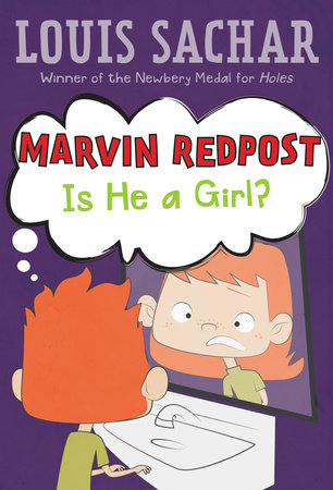 Marvin Redpost #3: Is He a Girl? by