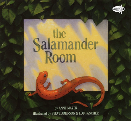 The Salamander Room by Anne Mazer
