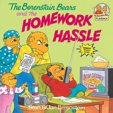The Berenstain Bears and the Homework Hassle by Jan Berenstain and Stan Berenstain