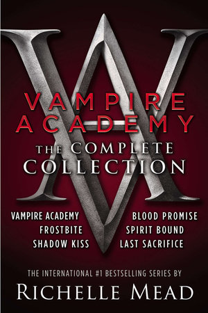 Vampire Academy: The Complete Collection book cover