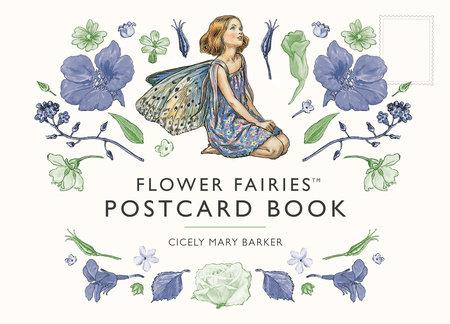 A Flower Fairies Postcard Book