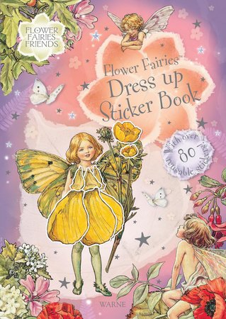 Flower Fairies Dress Up Sticker Bk