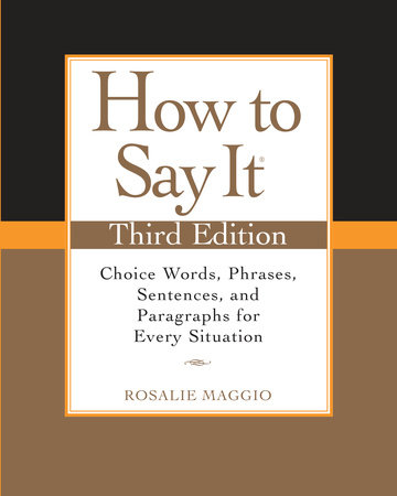 How to Say It, Third Edition