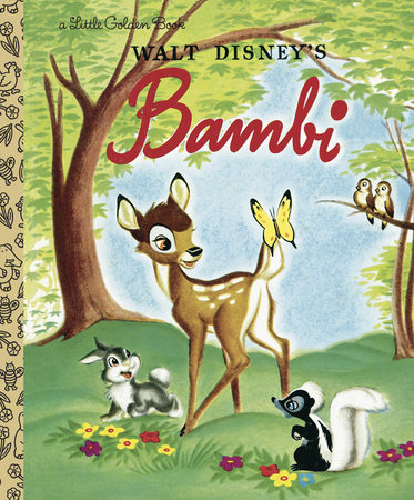 Bambi by Golden Books