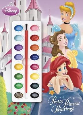 Pretty Princess Paintings (Disney Princess) by