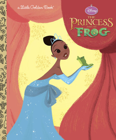 The Princess and the Frog Little Golden Book (Disney Princess and the Frog) by RH Disney