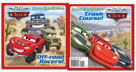Off-road Racers!/Crash Course! (Disney/Pixar Cars) by Frank Berrios