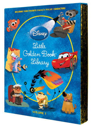 Disney/Pixar Little Golden Book Library (Disney/Pixar) by RH Disney