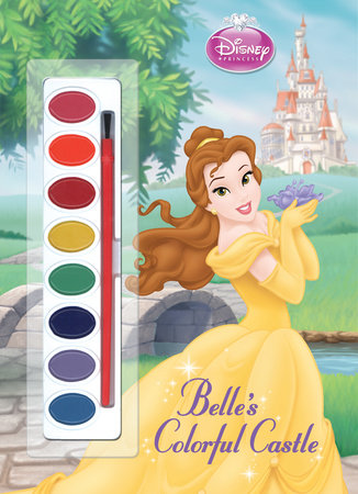 Belle's Colorful Castle (Disney Princess) by RH Disney