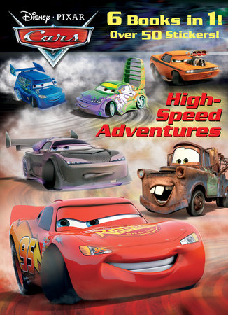 High-Speed Adventures (Disney/Pixar Cars) by Frank Berrios