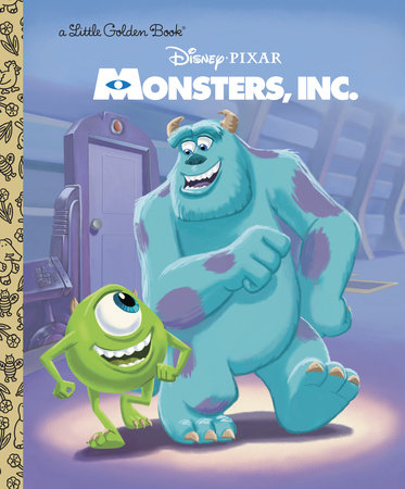 Monsters, Inc. Little Golden Book (Disney/Pixar Monsters, Inc.) by